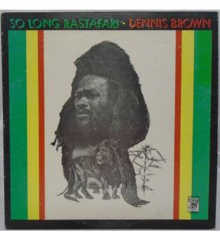 So Long Rastafari - Vinyl LP (VG/VG) Dennis Brown - HJLP-8715