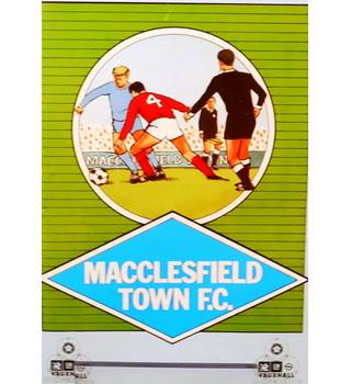 Macclesfield Town v Carlisle United - FA Cup 1st Round - 14th November 1987