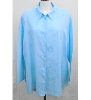 Jaeger long blue shirt Size XL