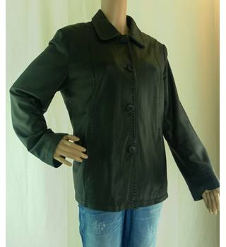 Lakeland - Size: 16 - Black - Fine Leather Jacket