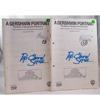 A Gershwin Portrait.  The Music and Ira  Gershwin. SAB Set of 29 copies.