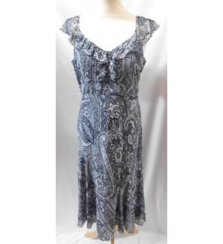 Per Una - Size: 10r - Grey - Sleeveless Dress
