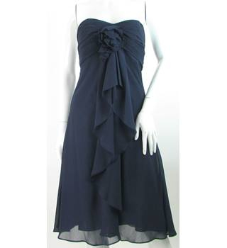 BNWT WTOO - Size: 2/4 - Indigo Blue - Sleeveless Layered & Gathered Dress
