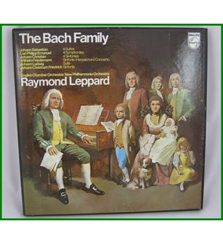 The Bach Family - English Chamber Orchestra/New Philharmonia Orchestra conductd by Raymond Leppard - 6709 004
