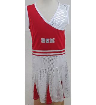 BNWT The Disney Store, age 11-12 years red & silver sequinned HSM3 dress