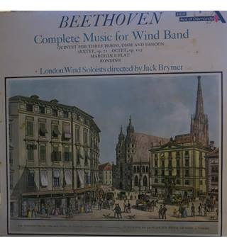 Beethoven Complete Music for Wind Band. London Wind Solists/Jack Brymer.  Decca SDD 383.