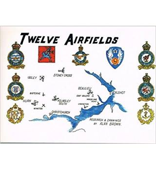 Twelve Airfields - signed by the author