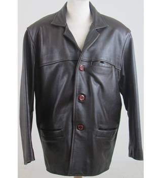 Unbranded size: M brown leather jacket