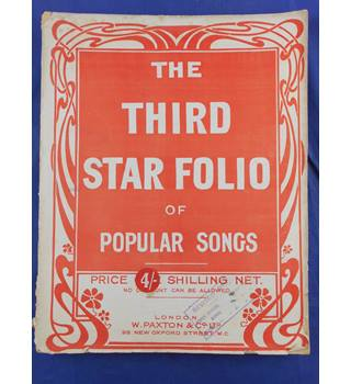 The Third Star Folio of Popular Songs
