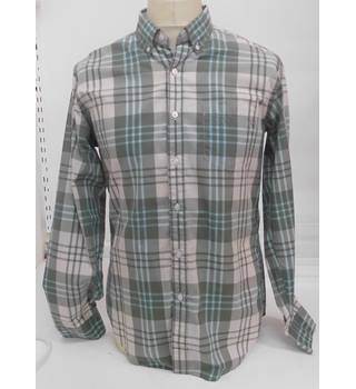 J Crew - Size: Small - Green checked shirt - Long sleeved