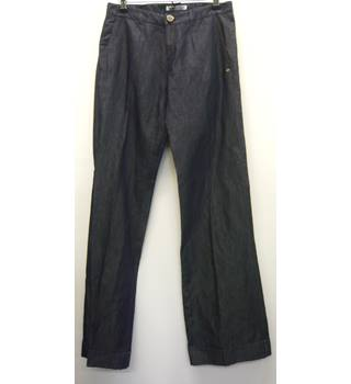 "Jeans, blue, size 10 long with straight wide legs Caractere - Size: 32"" - Blue - Jeans"