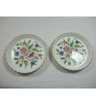 Minton Haddon Hall; 2 trinket dishes