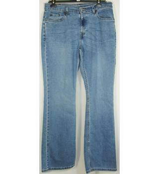 "Levi Strauss 515 - Size 34"" - Blue -  Boot Cut Jeans"