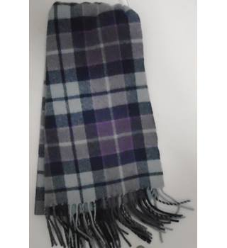 Lochmere Purple Plaid Scarf Lochmere - Size: Not specified - Purple - Scarf