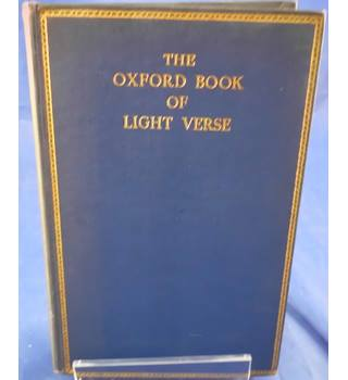 The Oxford Book Of Light Verse