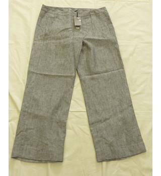 BNWT Tu Grey Trousers Size 14S Tu - Size: L - Grey - Trousers W 34 L 28