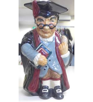 VINTAGE TOBY JUG from ROY KIRKHAM 'HEADMASTER' MADE IN ENGLAND