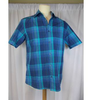M&S Blue Harbour size S shirt