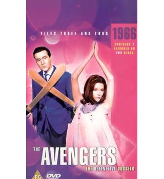 THE AVENGERS AVENGERS (TV) THE DEFINITIVE DOSSIER - 1965/1966, FILES 7 AND 8 PG