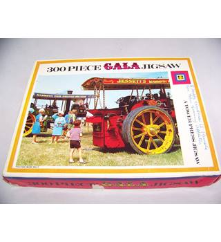 Vintage 300 piece Gala jigsaw - Traction Engine Rally
