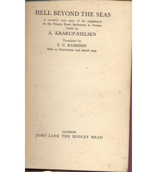 Hell beyond the Seas 1st English Edition