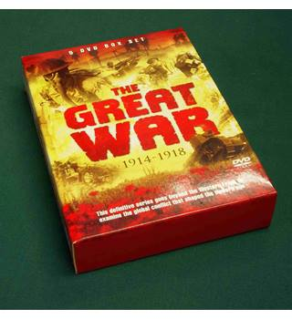 The Great War 1914 - 1918 5 DVD Box Set E