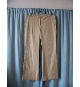 "Lands End - Size: 34"" - Beige - Trousers"