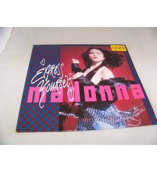 "Express Yourself Madonna - W 2948 T 12"" single"