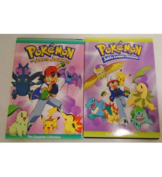 Pokémon: Johto League Champions - Complete Colection - DVD Non-classified