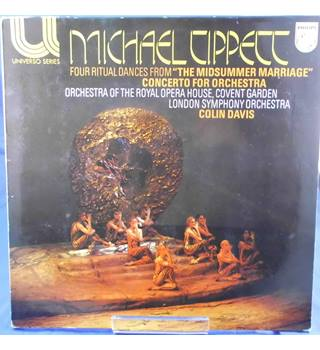 "Michael Tippett: Four Ritual Dances From ""The Midsummer Marriage""/Concerto for Orchestra - Colin Davis - 6580 093"