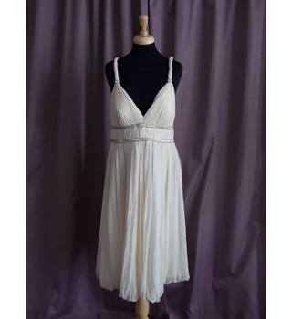 Anoushka G London, Oyster Wedding Dress, Size 16, BNWT