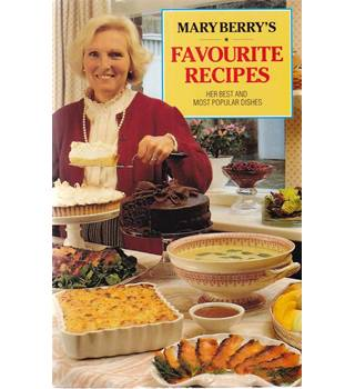 Mary Berry's Favourite Recipes - Signed Copy