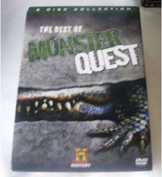 The Best Of Monster Quest (History Channel) 6 Disc Set ** SEALED ** U