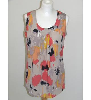 50% OFF SALE Clements Ribeiro Pretty Summer Top Clements Ribeiro - Size: S - Multi-coloured - Sleeveless top
