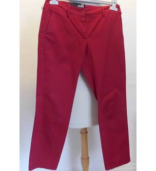 Love Moschino cropped trousers Mocshino - Red