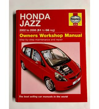 Honda Jazz 2002 to 2008 (51 to 08 reg)