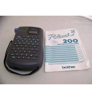 Brother P-touch PT-200 label printer