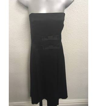Brand New with tags, Wallis Black Dress Wallis - Size: 14 - Black - Strapless dress