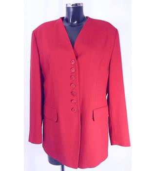 Betty Barclay Jacket - Red - Size 18 Betty Barclay - Size: 18 - Red