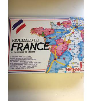 Wealth of France a great board game (In French)