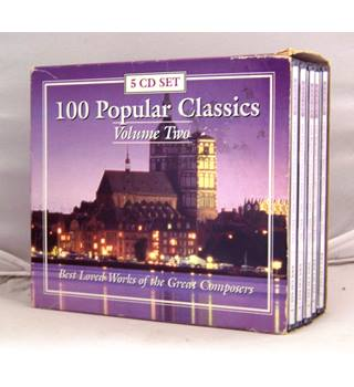 100 Popular Classics vol.II (lovely selection of favourites [see description] 5 x CDs in own cases)