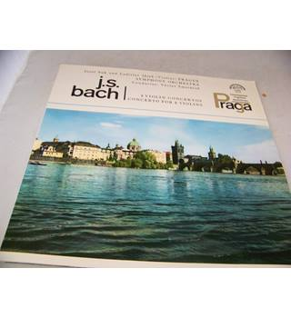 J S Bach 2 Violin Concertos and Concerto for 2 Violins Prague Symphony Orchestra - 50 672