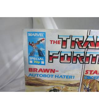 Marvel The Transformers Brawn and Starscream issue 1985