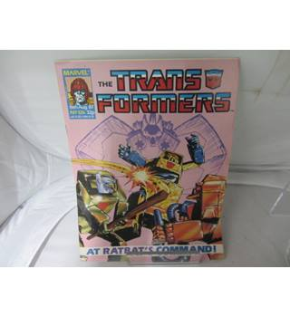 Marvel the Transformers 15 August 1987 no 126 issue