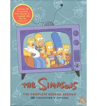THE SIMPSONS COMPLETE SEASON 2 PG