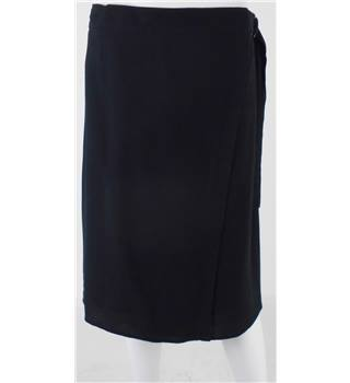 NWOT Marks & Spencer Collection, size 8 black wrap around skirt