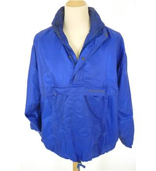 "Schoffel Size: Medium, 40"" chest Cobalt Blue Country/Outdoor Rip Stop Nylon Gore-Tex Smock/Jacket"