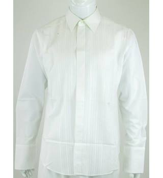 Vintage - M&S St Michael - Size: XL - White - Shirt