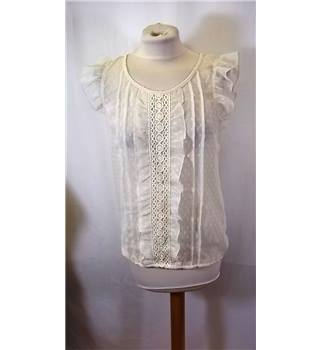 BNWT Select size: 10 cream / ivory blouse