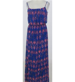 BNWT: New Look:  Size 8: Blue mix maxi dress